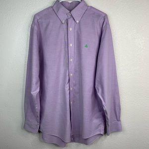 "Brooks brothers ""the original polo"" purple polo"